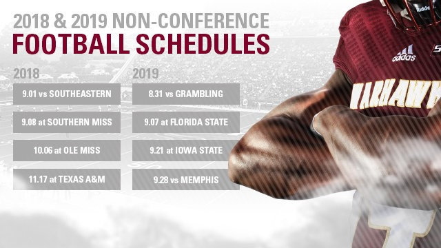 Football Announces Future Non Conference Opponents University Of