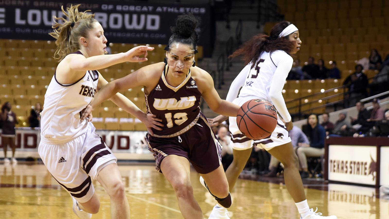 Ulm Lacks Scoring Punch To Keep Pace In 81 45 Loss To Texas State
