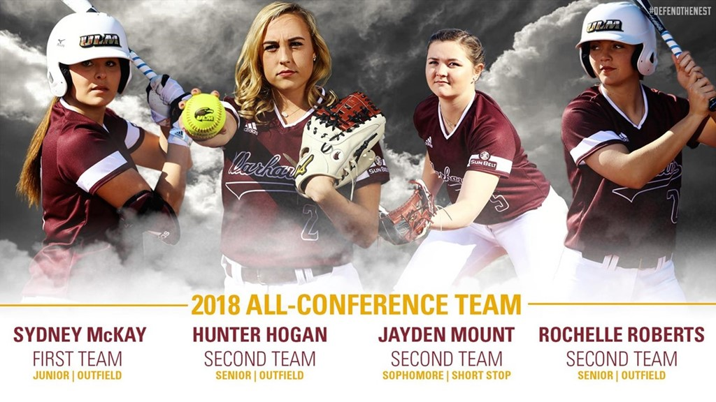 Record Four Warhawks Earn All-Conference Honors