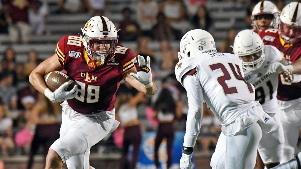 Ulm Faces Texas State In Home And Sun Belt Opener Saturday University Of Louisiana Monroe Athletics